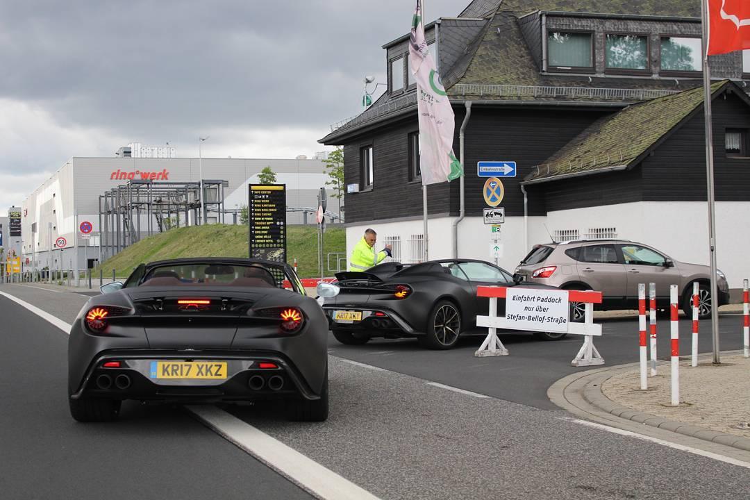 Zagato Aston Martin Vanquish Volante And Speedster Spied Together Gtspirit