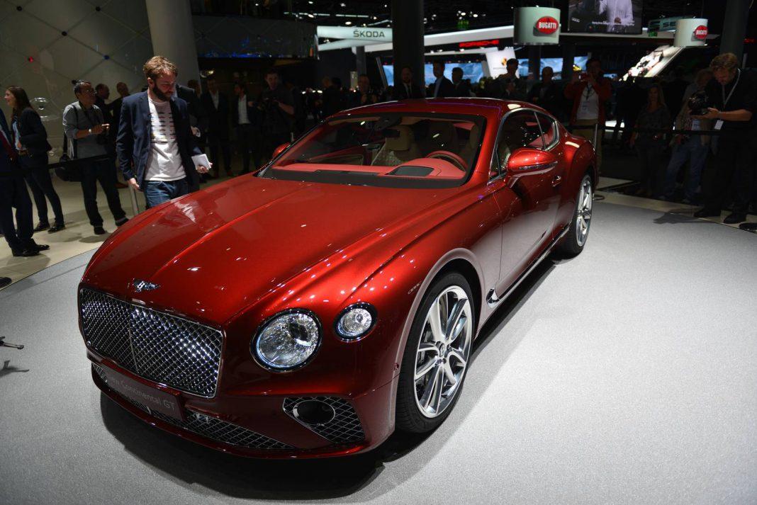 IAA Frankfurt 2017: Bentley Continental GT