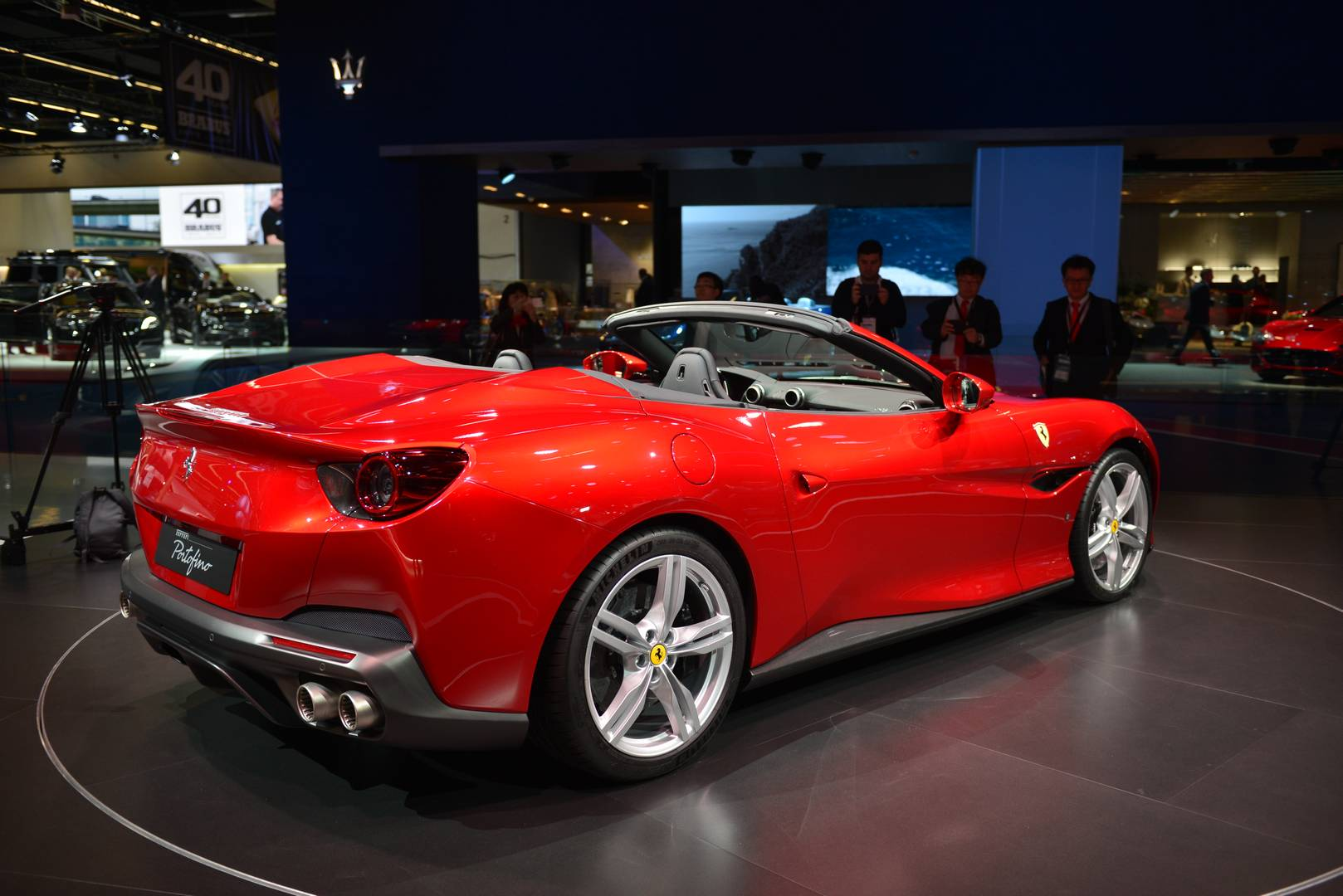 Lamborghini And Ferrari Hybrids Yes But All Electric Cars A No For Now