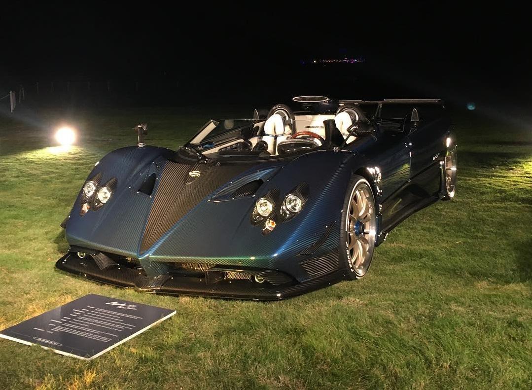 1 of 3 pagani zonda hp barchetta revealed at pebble beach 2017