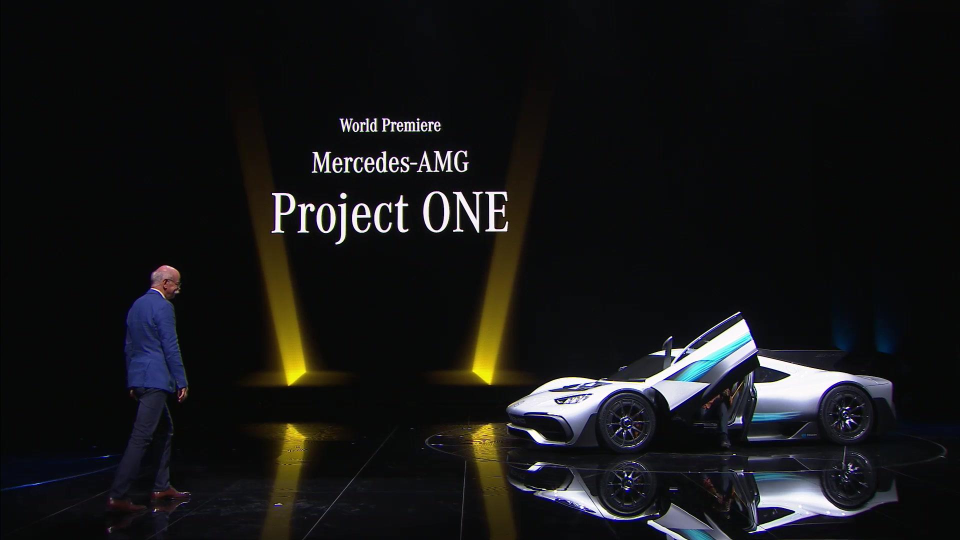 Mercedes-AMG Project ONE Hypercar IAA 2017 Lewis Hamilton