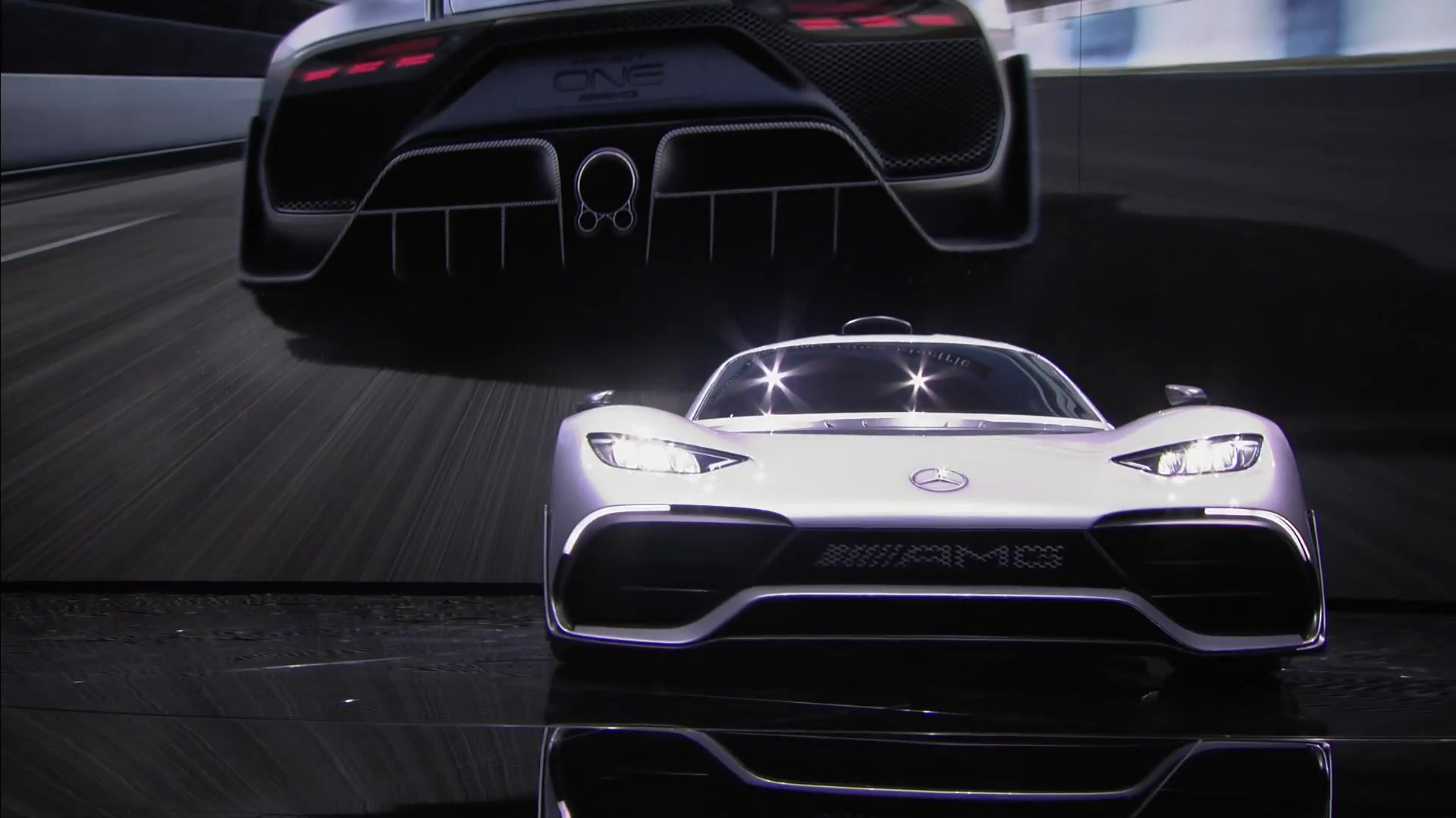 Mercedes-AMG Project ONE Hypercar IAA 2017