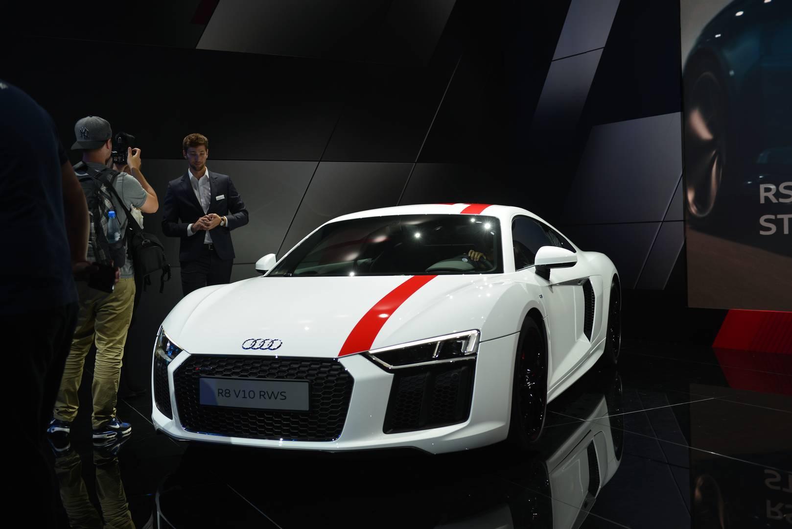Iaa Frankfurt 2017 Audi R8 V10 Rws Gtspirit