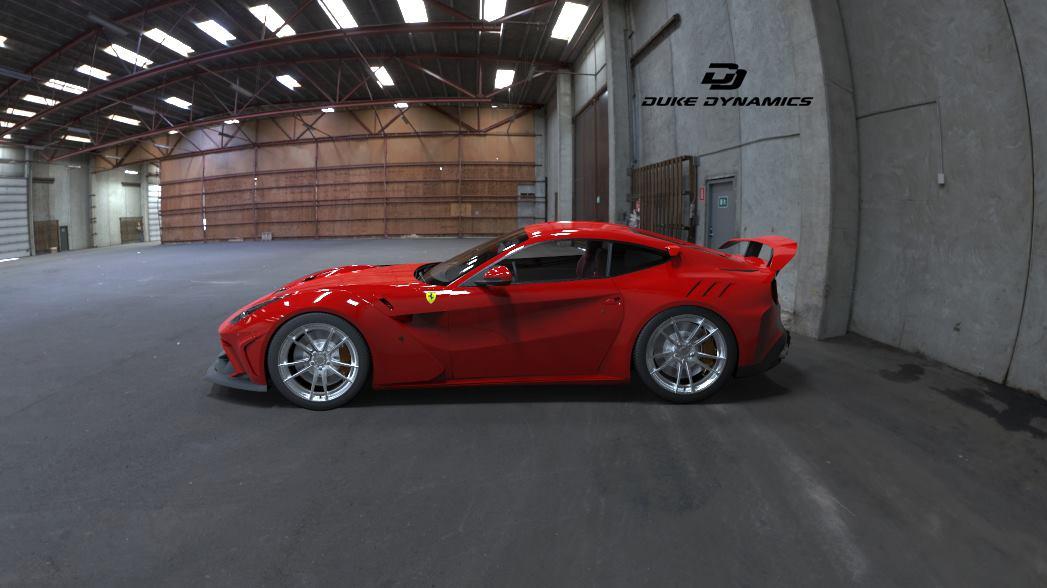 Official Ferrari F12 Widebody by Duke Dynamics , GTspirit