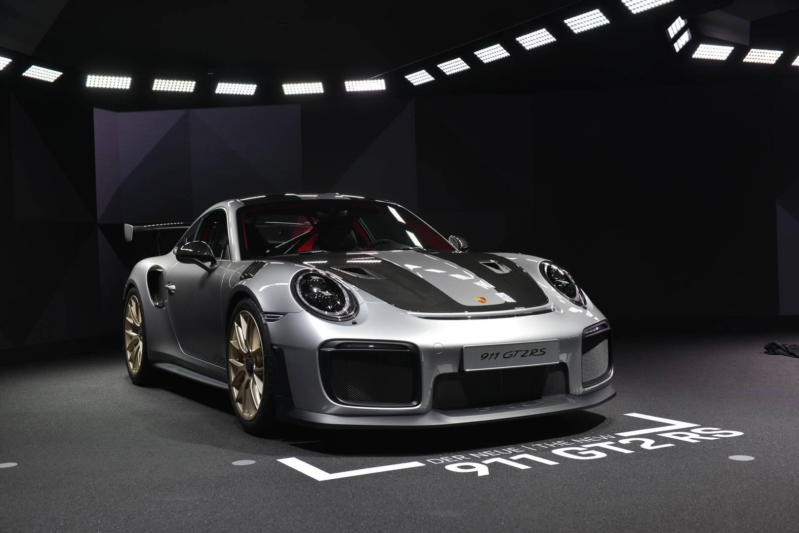 2018 Porsche 911 GT2 RS Eyes Nurburgring Record in Fresh