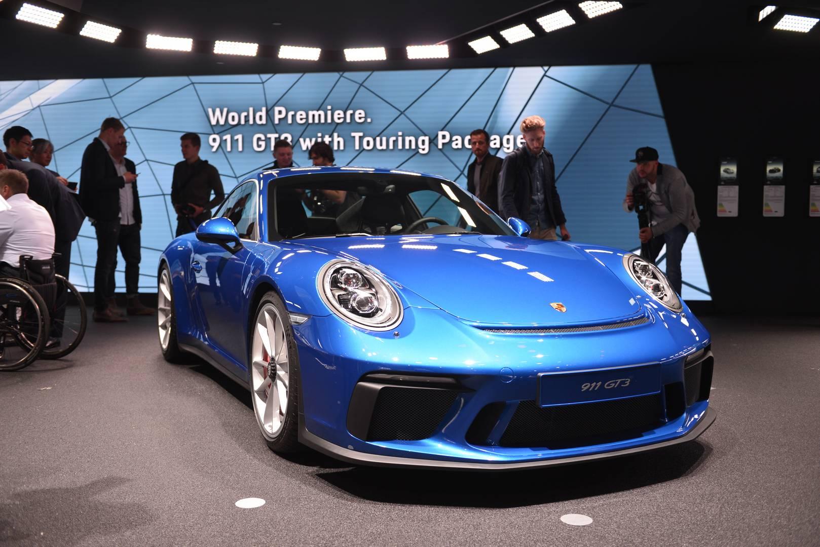 IAA Frankfurt 2017: Porsche 911 GT3 Touring Package - GTspirit