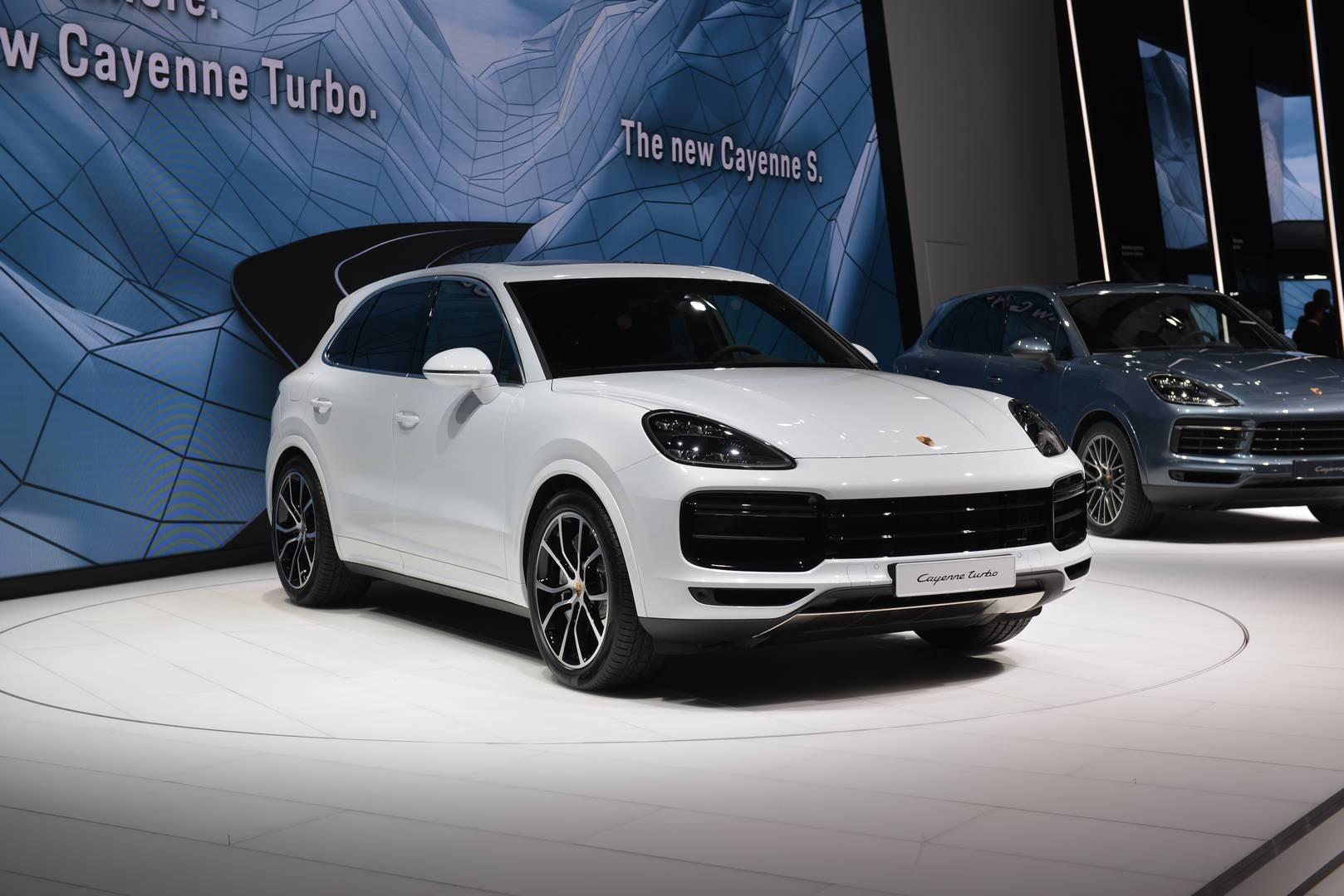 Iaa Frankfurt 2017 Porsche Cayenne Turbo