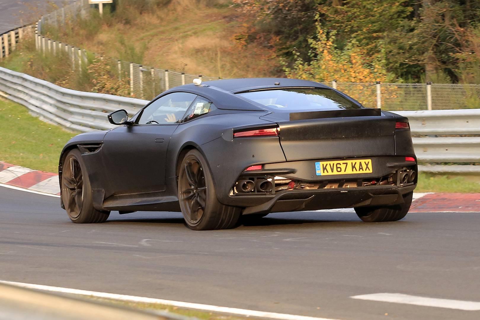 Next Gen Aston Martin Vanquish First Spy Shots Gtspirit