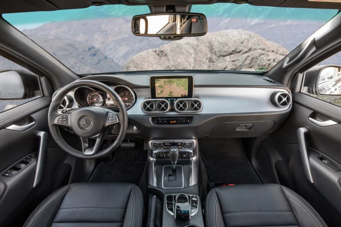 Mercedes-Benz X-Class Interior10