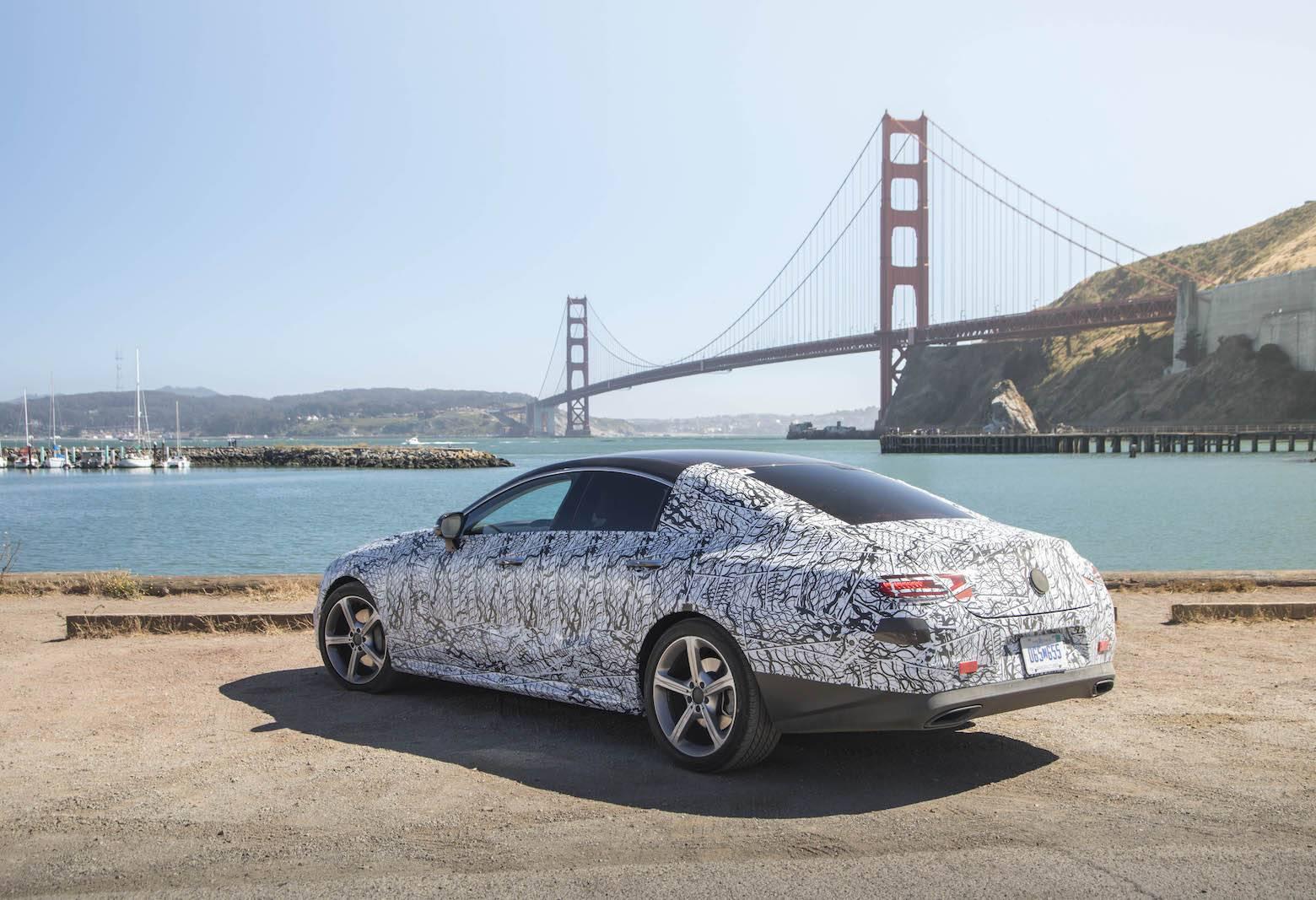 2018 Mercedes-Benz CLS Sneak-Peek in San Fransisco - GTspirit