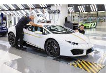 Pope's White Lamborghini Huracán RWD Back on the Market