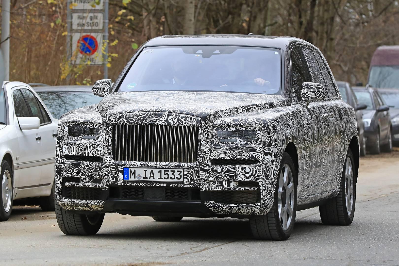 Rolls-Royce Cullinan Spy Shots In Munich