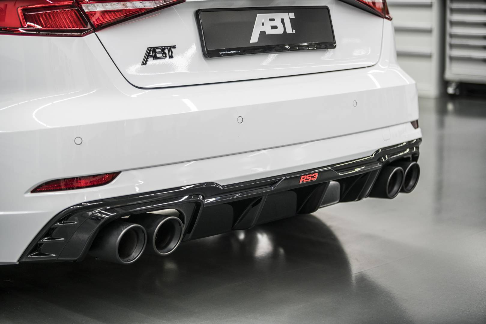 Official Abt Audi Rs3 With 500hp Gtspirit