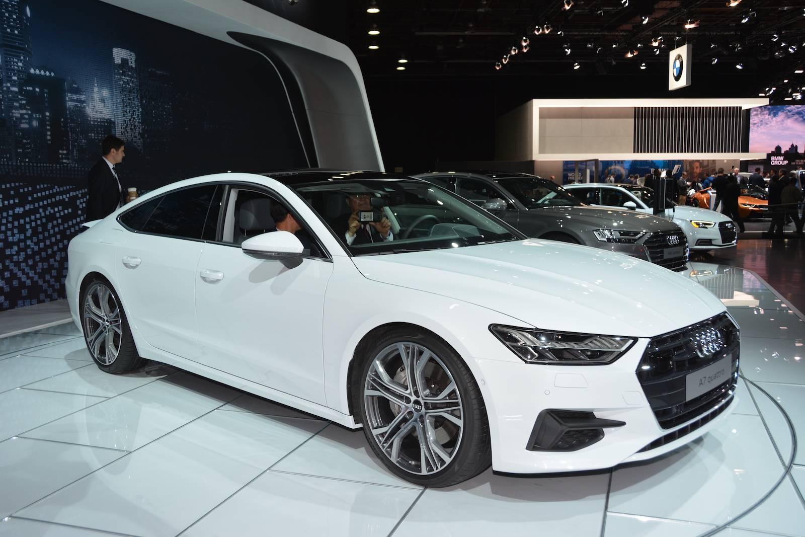Detroit 2018 Audi A7 Sportback