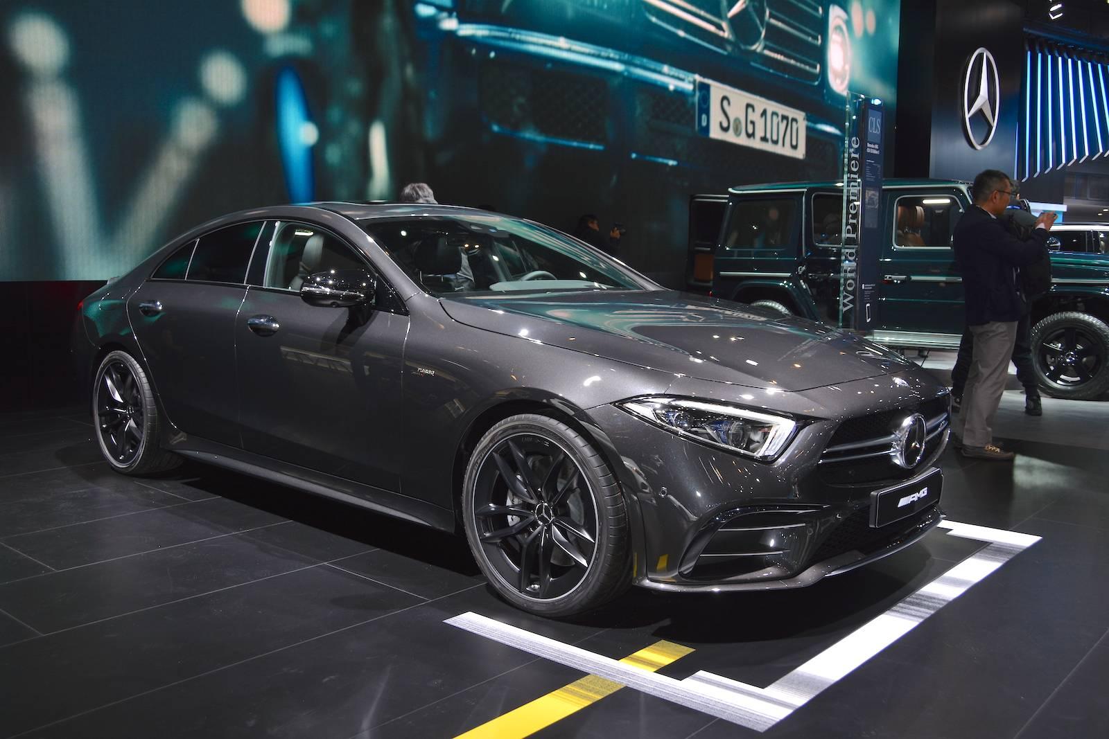 Detroit 2018 Mercedes Amg Cls 53