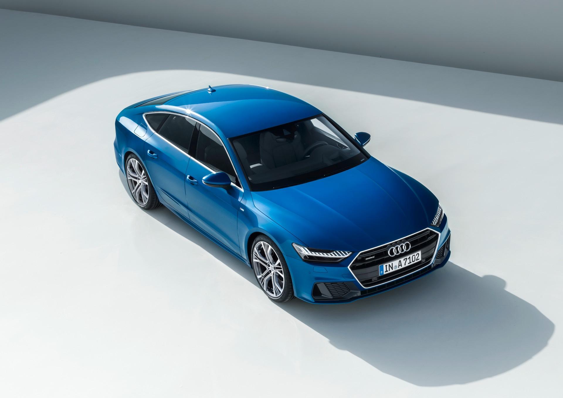 Audi A7 Review Studio