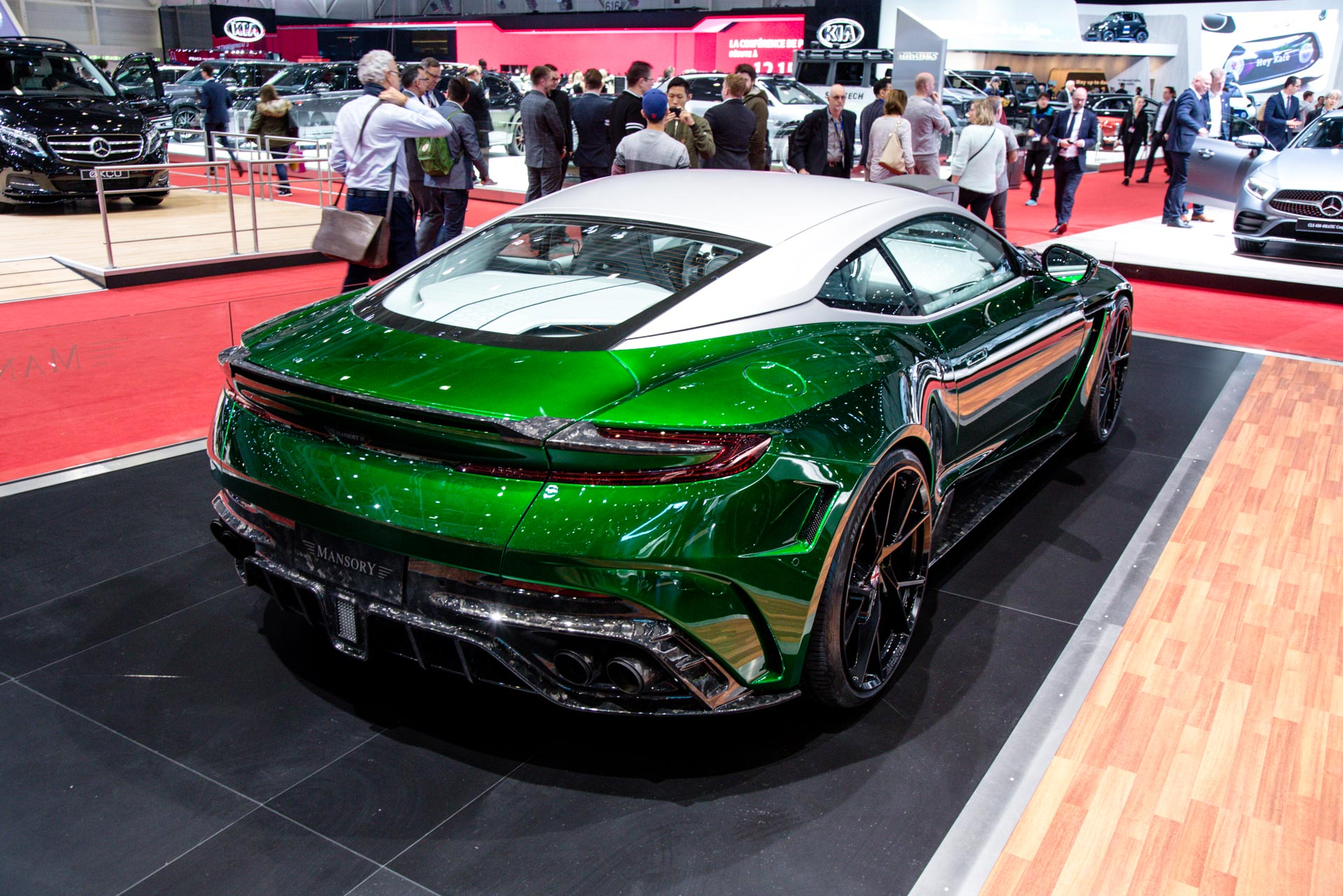 mansory at the geneva motor show 2018 - gtspirit