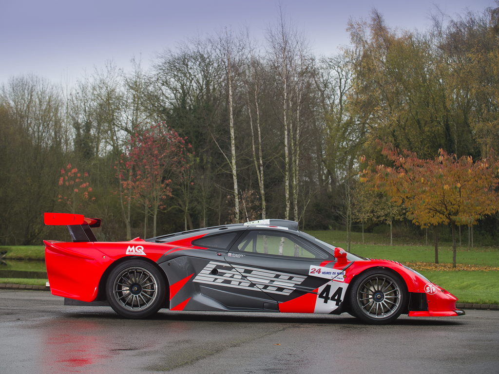 lark mclaren f1 gtr longtail #27r for sale in uk - gtspirit
