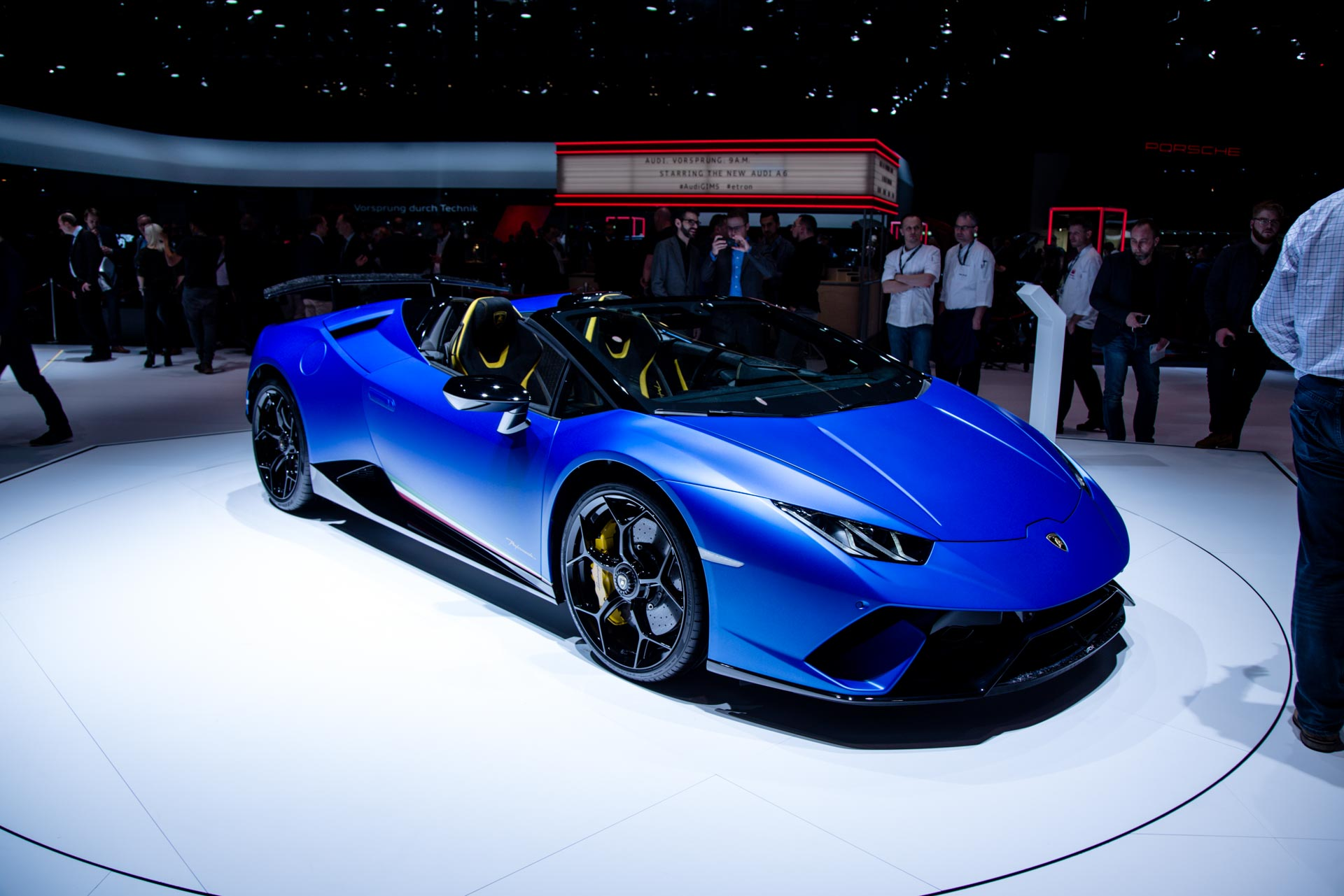 Lamborghini At The Geneva Motor Show 2018 Gtspirit