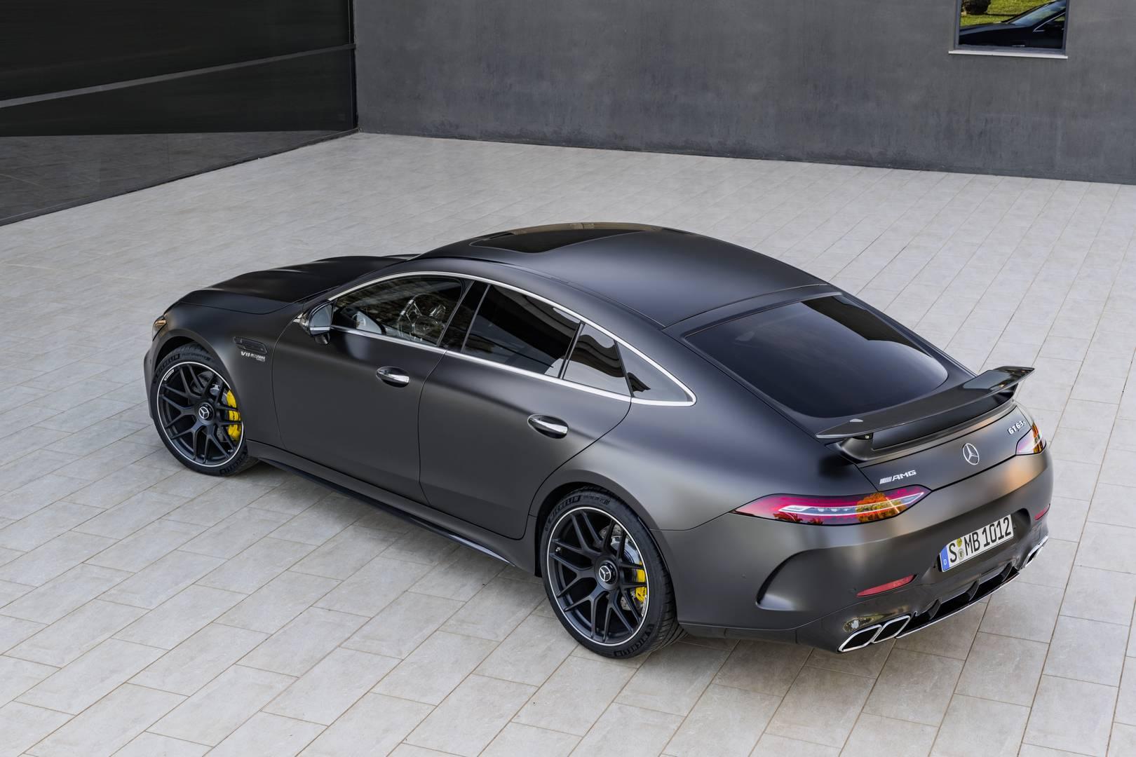 הוראות חדשות Official: 2019 Mercedes-AMG GT 4-Door Coupe: GT 53, GT 63 & GT 63 RF-12