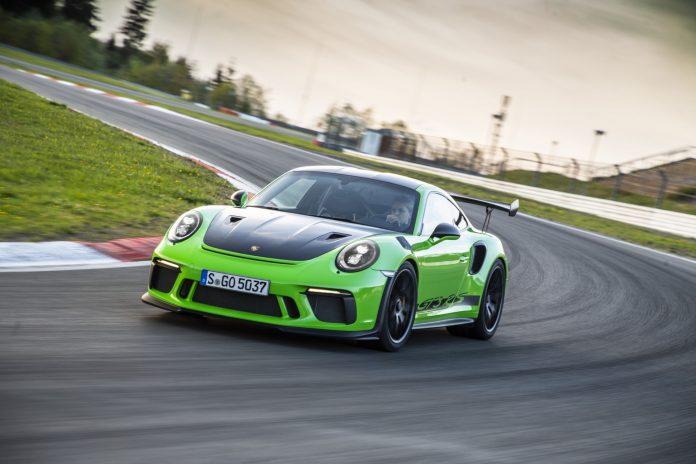 Porsche 911 GT3 RS Weissach Lizard Green GTspirit28