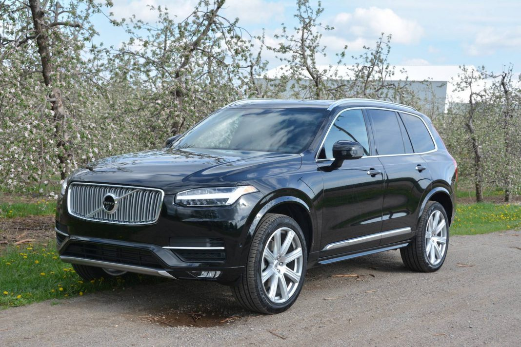 2018 volvo xc90 t6 awd inscription review gtspirit. Black Bedroom Furniture Sets. Home Design Ideas