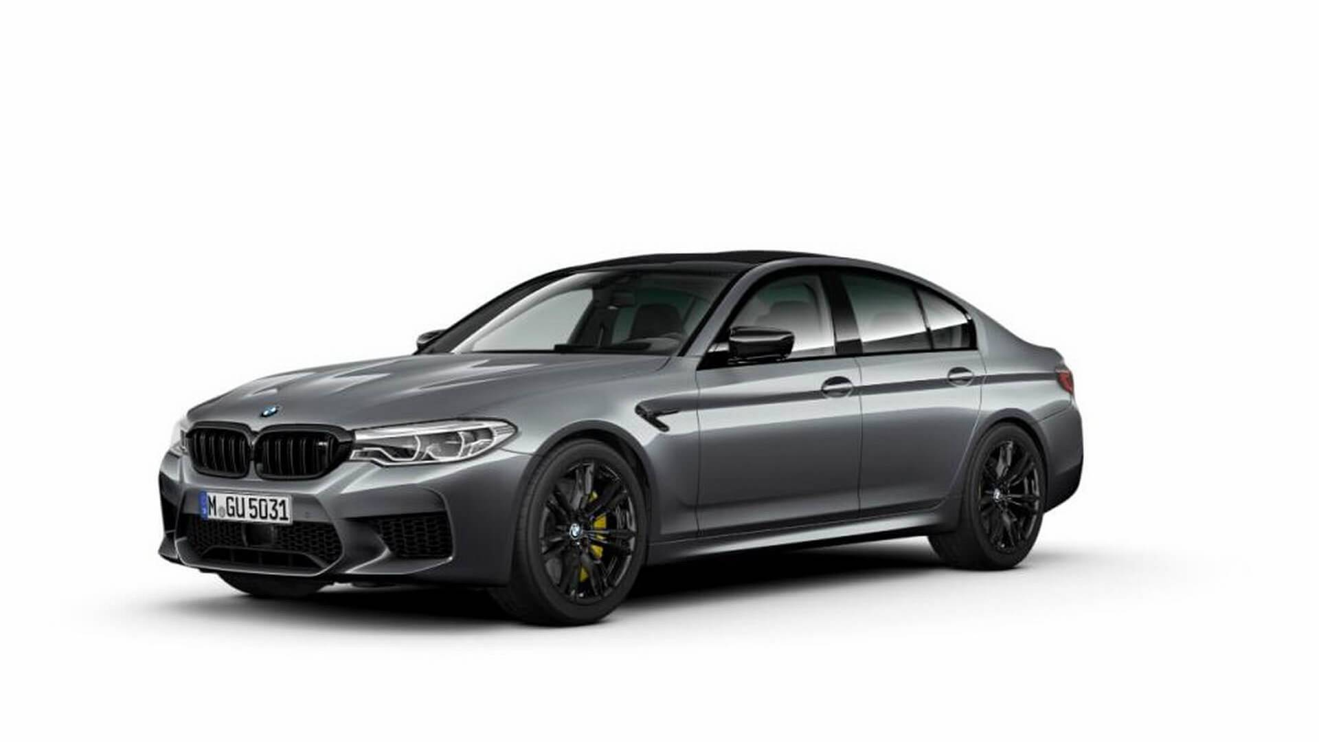 2019 Bmw M5 Competition Images Leaked Gets 625hp Gtspirit