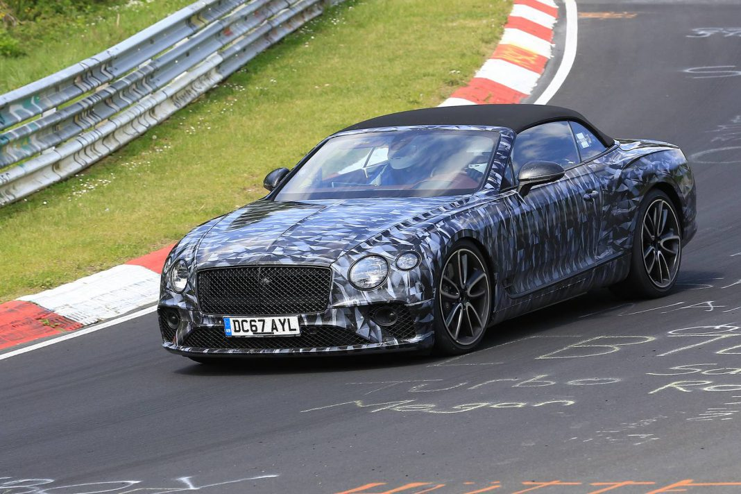 2019 Bentley Continental GTC Spied During Final Testing
