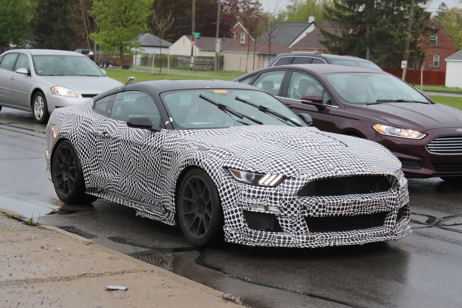 2019 Ford Mustang Shelby Gt500 Spy Shots Gtspirit