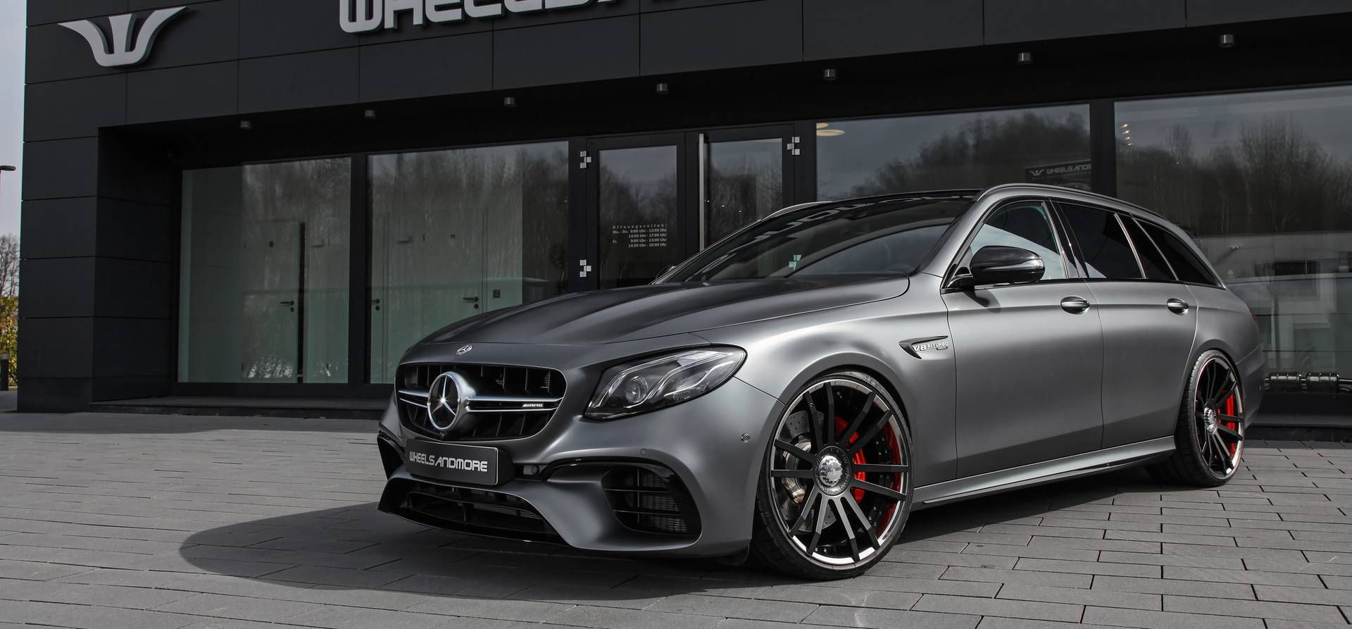 712hp for the Mercedes-AMG E63 S Estate by Wheelsandmore ...