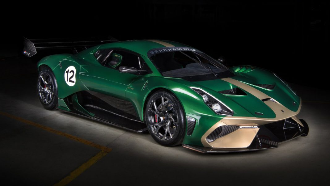 Brabham BT62 Track Car