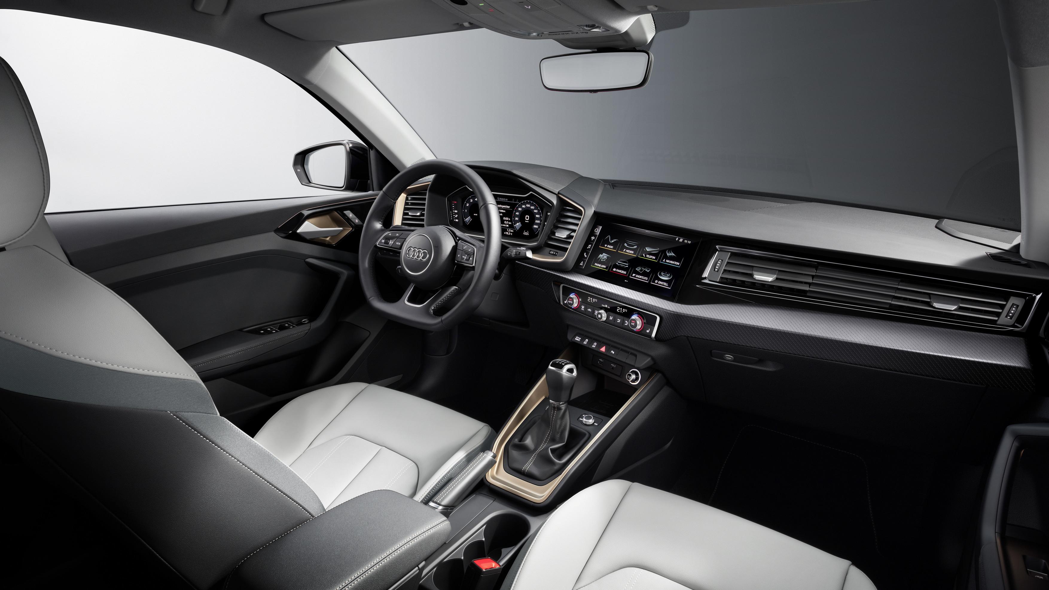 Audi A1 Sportback Front Interior