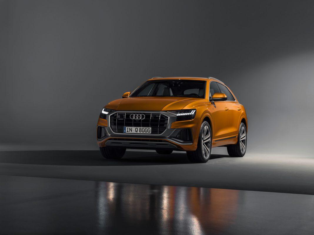 Audi Q8 Studio Photos