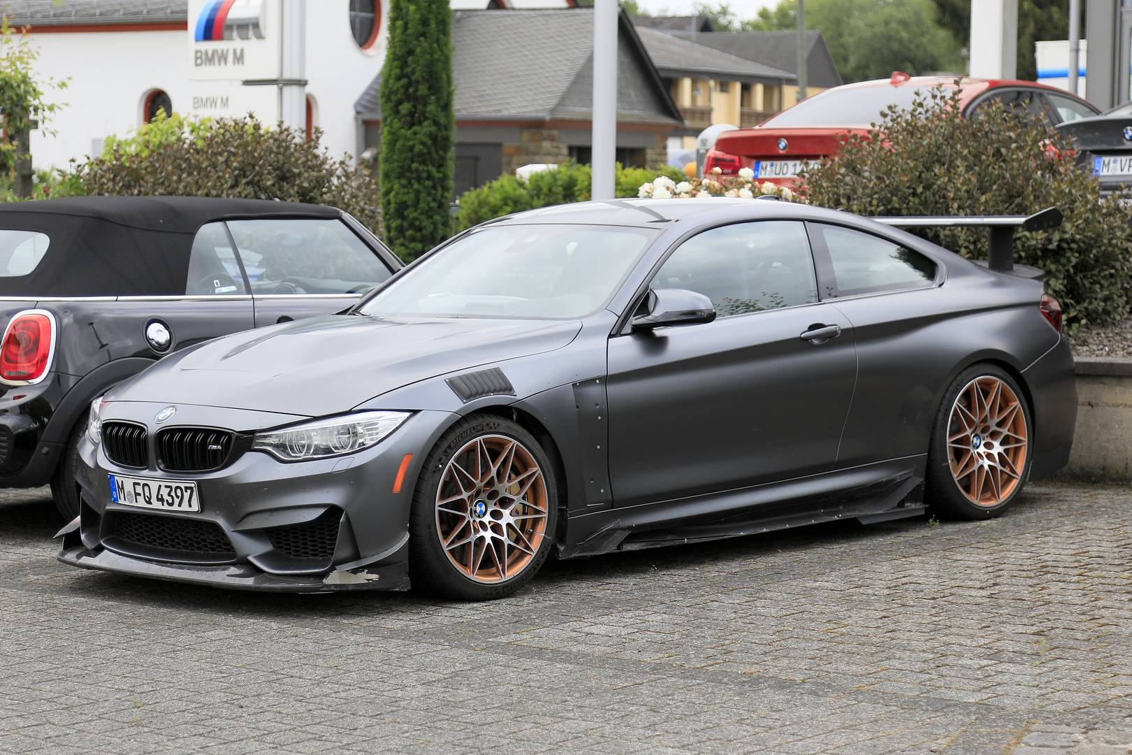 Bmw M4 To Get Final Swan Song Extreme Gts Seen Testing