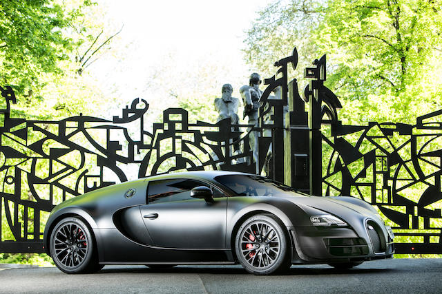 Very Last Bugatti Veyron Super Sport To Be Auctioned At Goodwood 2018