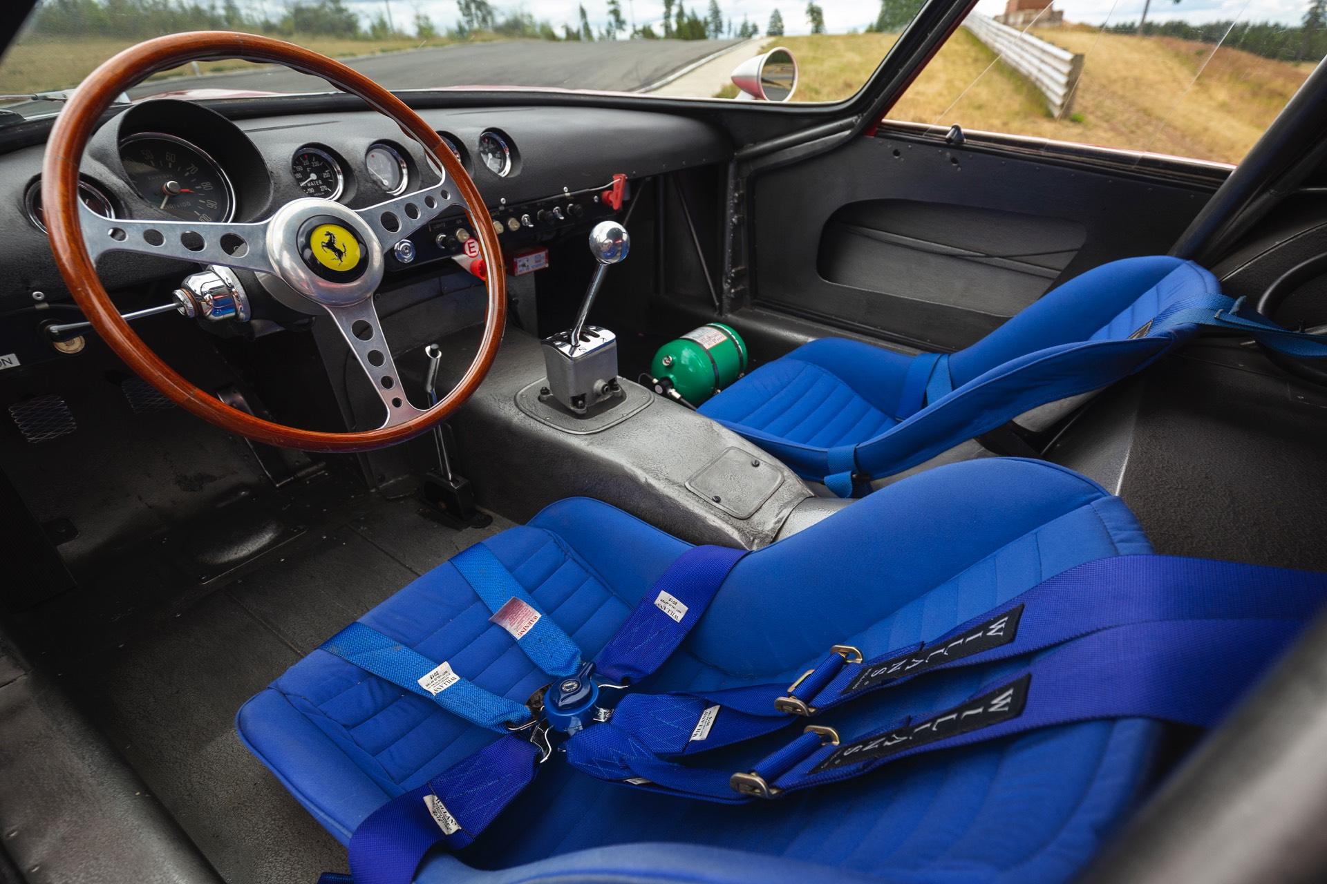 Ferrari 250 GTO RM Sothebys Interior
