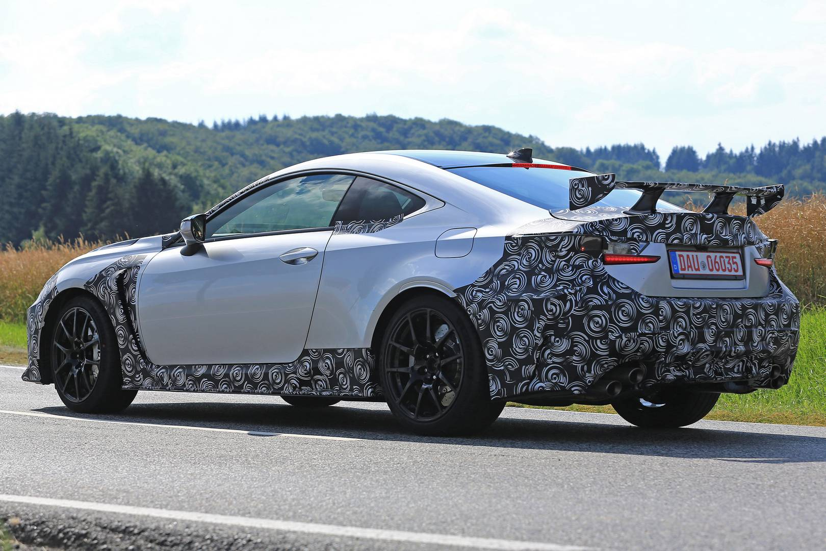 2019 Lexus Rc F Gt Spy Shots Emerge Gtspirit