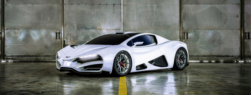 Milan Red Revealed Austrian Hypercar With 1 300hp Quad Turbo V8 Gtspirit