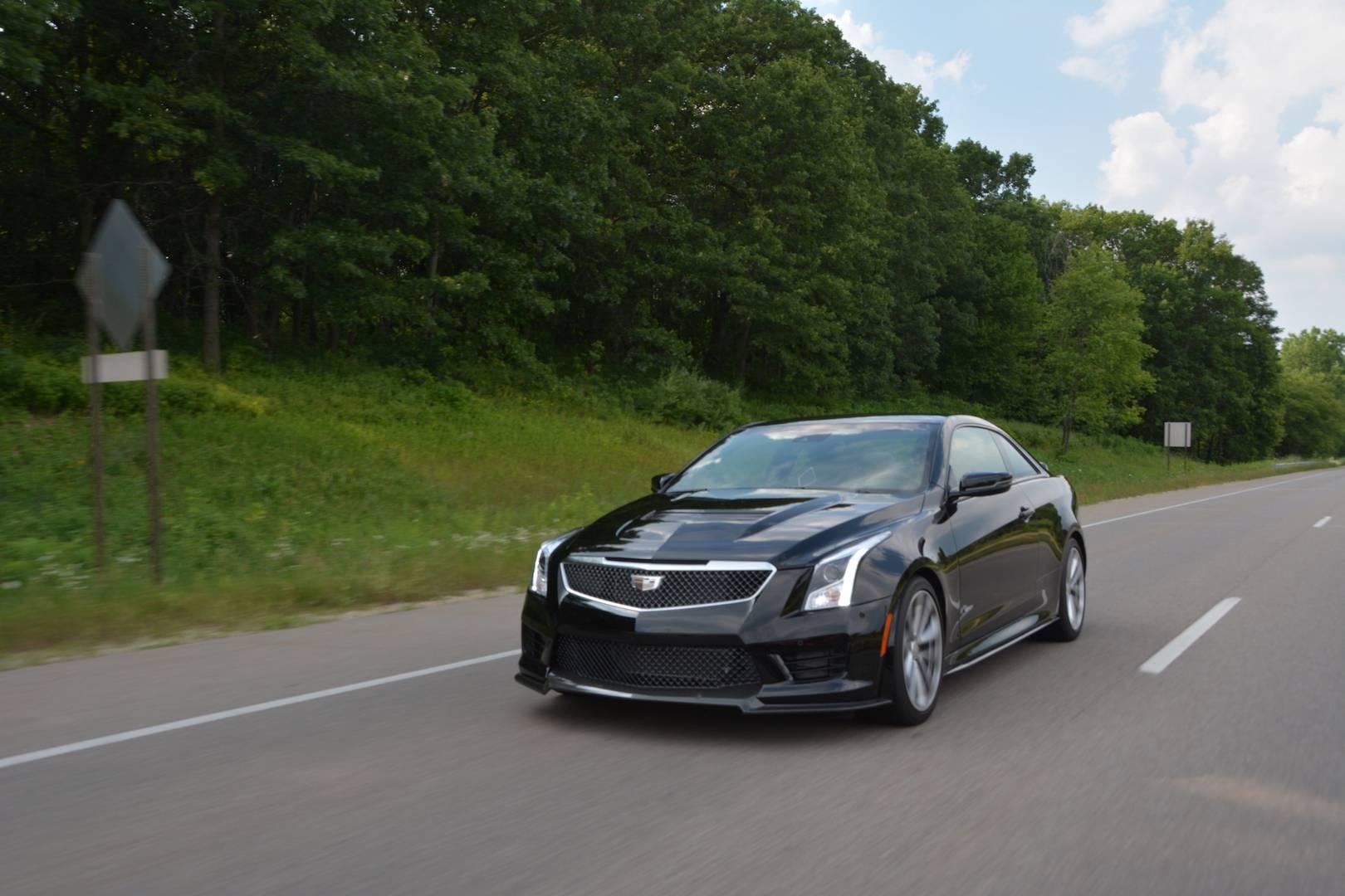 2019 Cadillac ATS-V Coupe Review - GTspirit