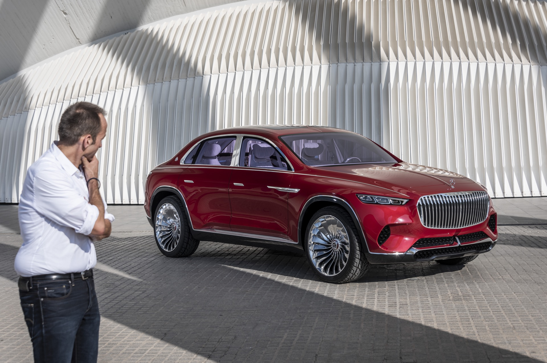 First Drive Vision Mercedes Maybach Ultimate Luxury Concept Gtspirit