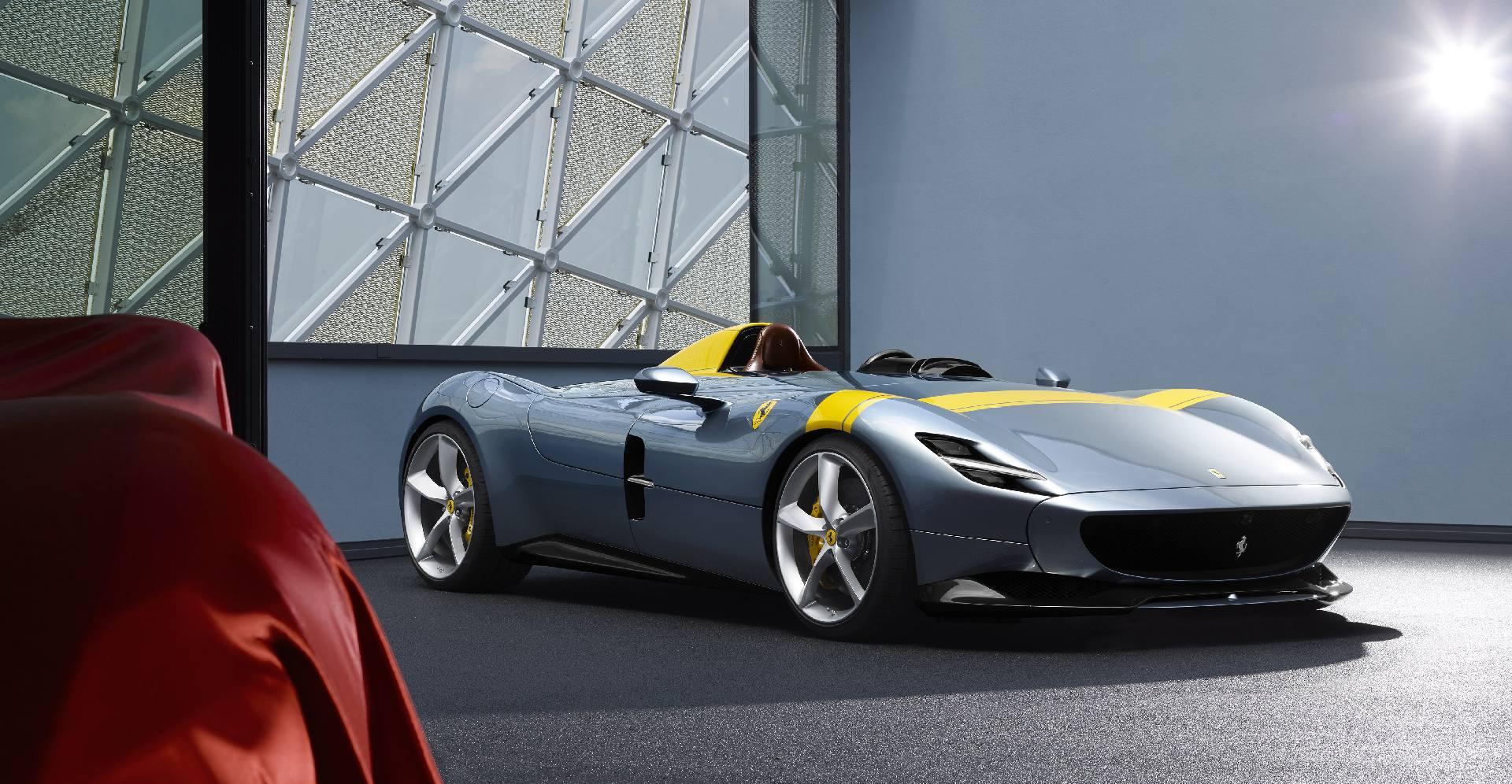 Limited Edition Ferrari Monza Sp1 And Sp2 Models Revealed Gtspirit