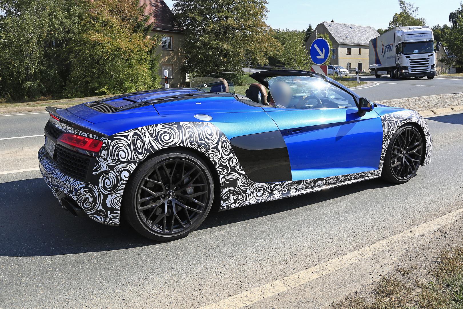 Audi R8 Spyder Facelift