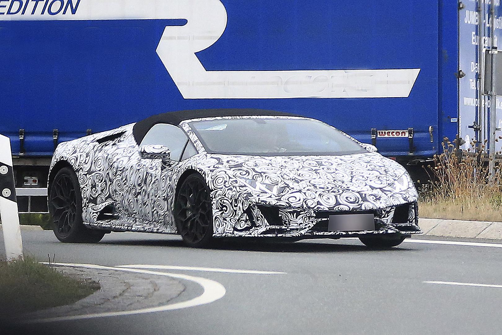Lamborghini Huracan Spyder Facelift