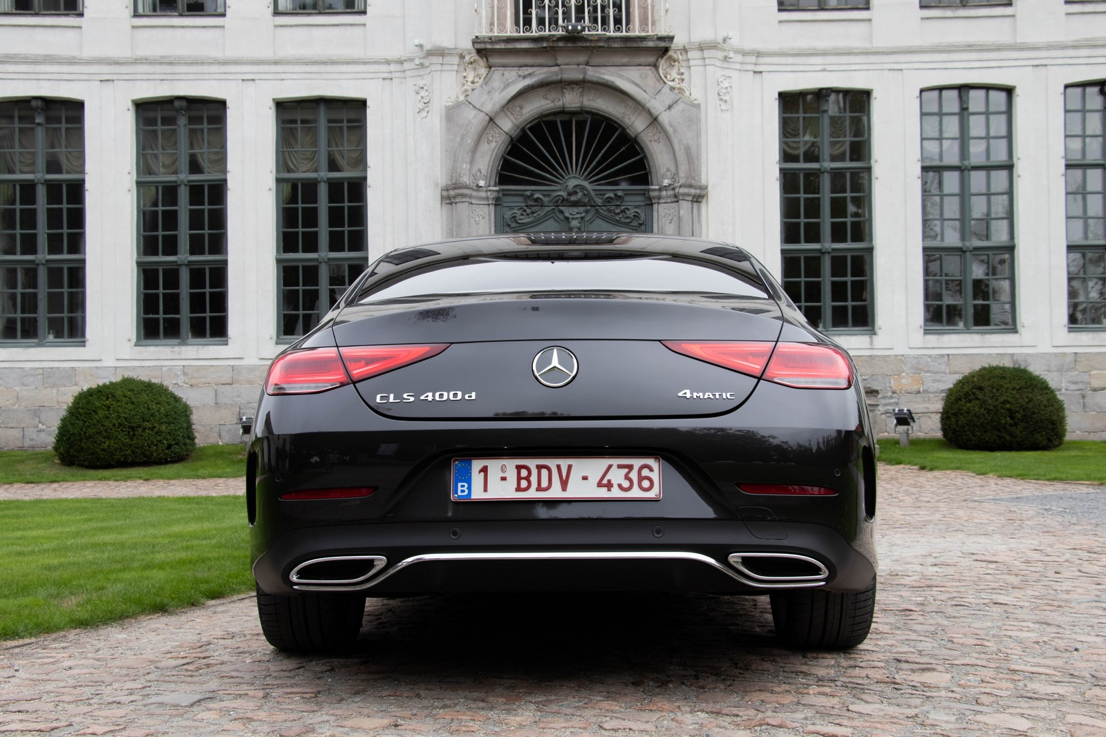 Mercedes-Benz CLS 400d Rear