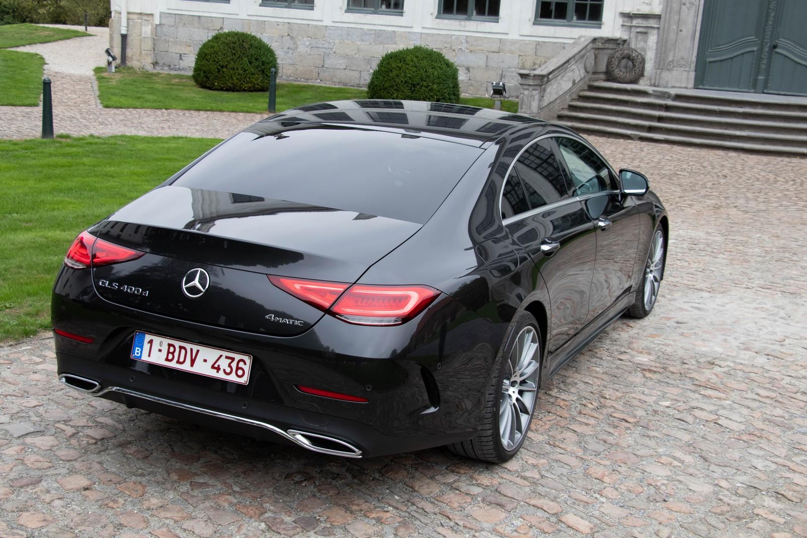 Mercedes-Benz CLS 400d Rear