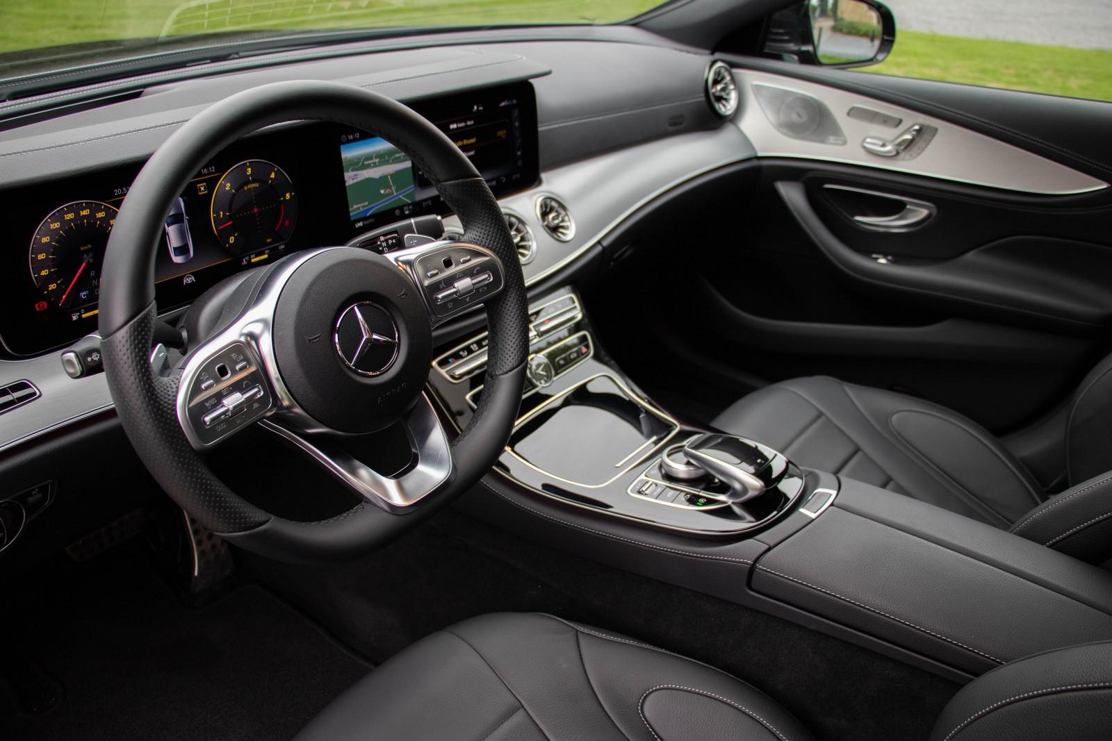 Mercedes-Benz CLS 400d Dashboard