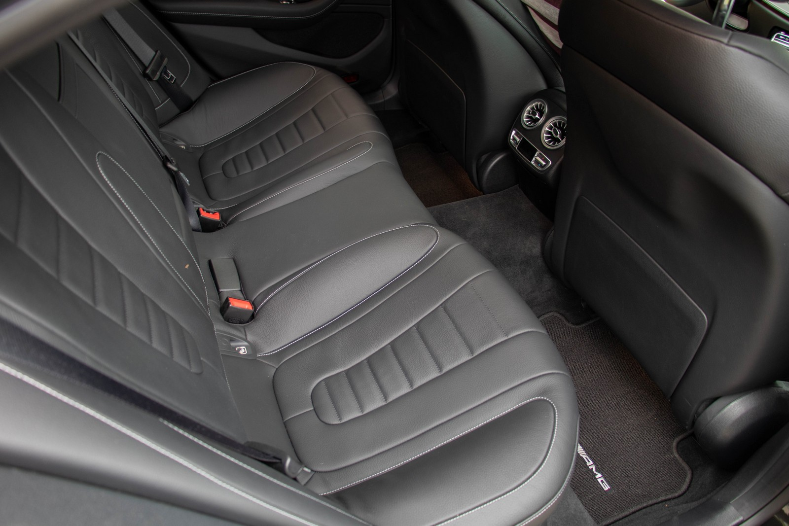 Mercedes-Benz CLS 400d Rear Seats