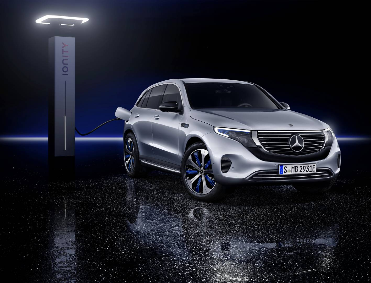 All New Mercedes Benz Eqc Revealed Full Electric Suv