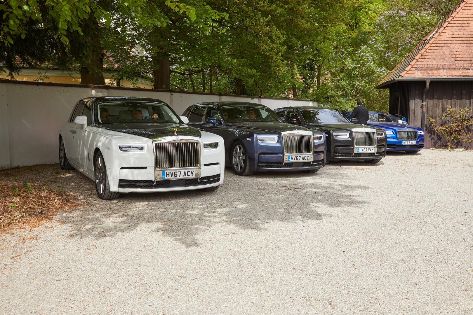 Rolls-Royce Phantom VIII Lineup