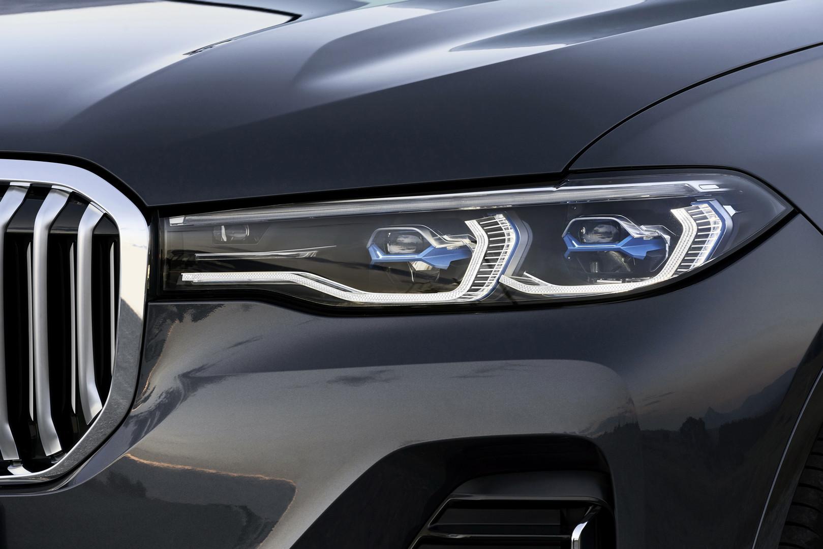 2019 BMW X7 Laser Headights